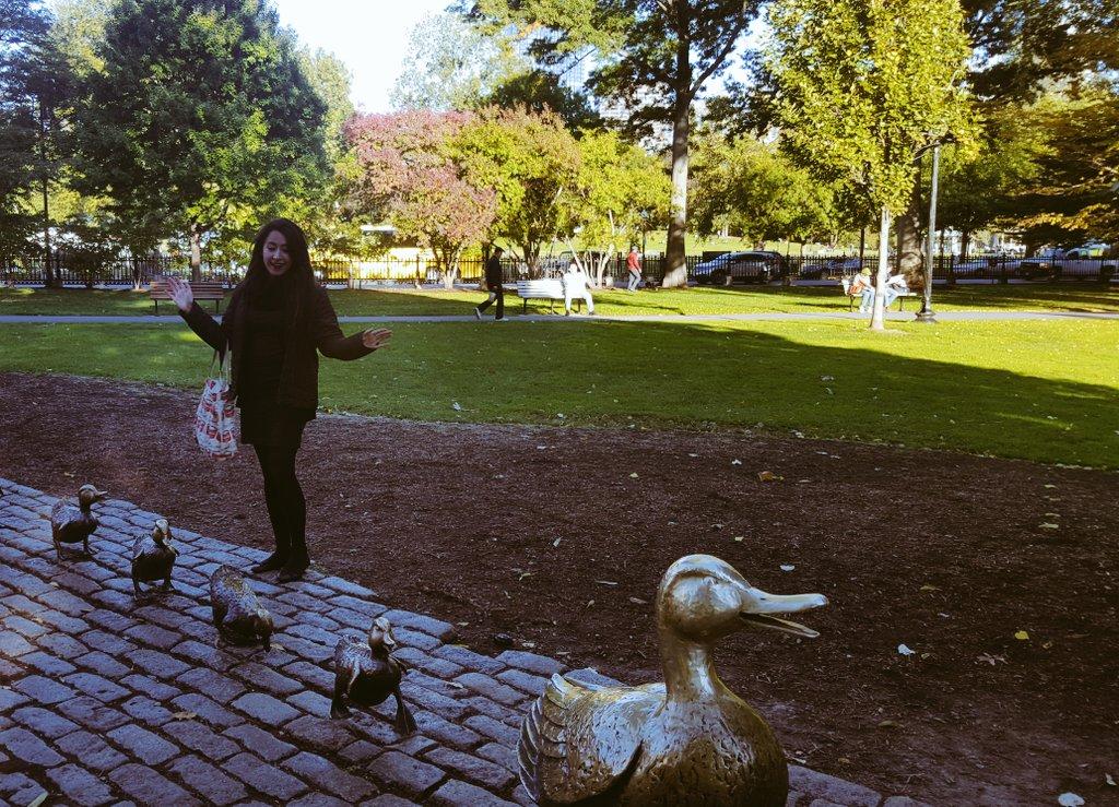 Mexicana en Boston, Public Garden